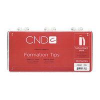 CND Formation Tips Clear 200 pcs