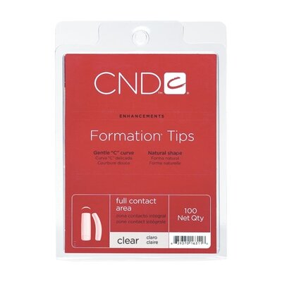 CND Formation Tips Clear