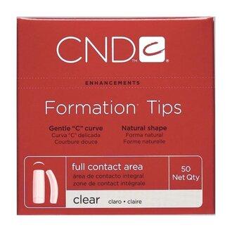 CND Formation Типсы Прозрачные