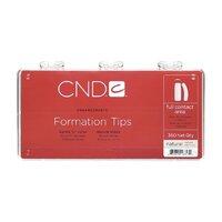 CND Formation Tips Natural 200 pcs.