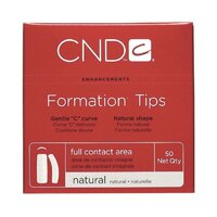 CND Formation Tips Natural #8