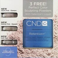 Набор CND 3 Free Perfect Color Sculpturing Powders