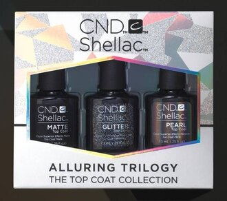 Shellac Alluring Trilogy Top Coat