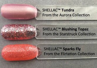 Shellac Blushing Topaz