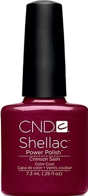 Shellac Crimson Sash