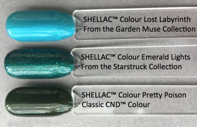 Cnd Shellac Emerald Lights Nail Polish Nail Shop