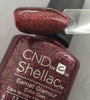 Shellac Garnet Glamour