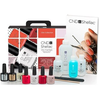 Набор CND Shellac Chic Collection