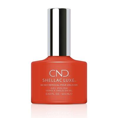 Shellac Luxe Electric Orange