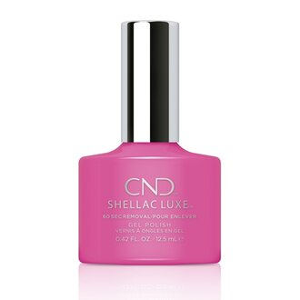 Shellac Luxe Hot Pop Pink
