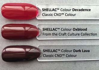Shellac Oxblood