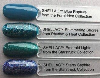 Shellac Shimmering Shores