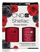 Shellac Wildfire & Ruby Ritz