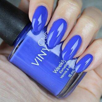 Vinylux Blue Eyeshadow