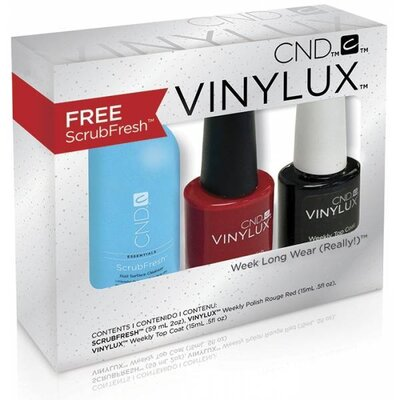 Набор CND Vinylux Rouge Red Stocking Stuffer Kit