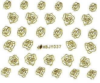 Наклейки для ногтей (стикеры) 037