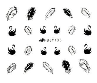 Наклейки для ногтей (стикеры) 135