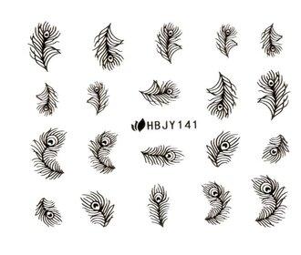 Наклейки для ногтей (стикеры) 141