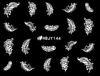 Наклейки для ногтей (стикеры) 144