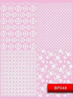 Наклейки для ногтей (стикеры) BP 048