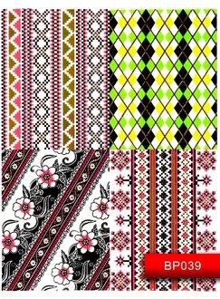 Nail Art Stickers BP 039