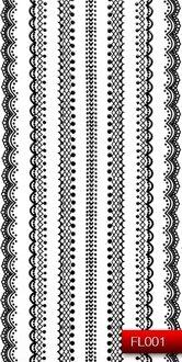 Наклейки для ногтей (стикеры) FL 001