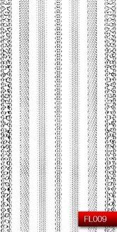 Наклейки для ногтей (стикеры) FL 009
