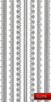 Наклейки для ногтей (стикеры) FL 019