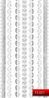 Наклейки для ногтей (стикеры) FL 021