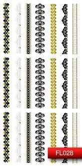 Наклейки для ногтей (стикеры) FL 028