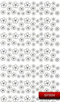 Наклейки для ногтей (стикеры) SP 004