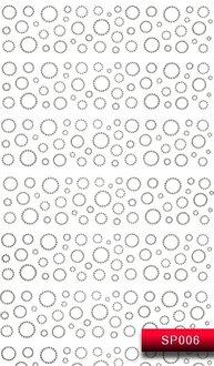 Наклейки для ногтей (стикеры) SP 006