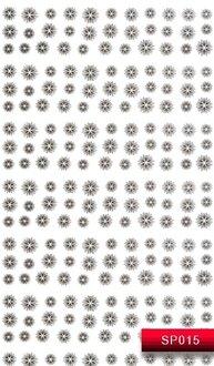 Наклейки для ногтей (стикеры) SP 015