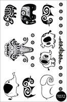 Flash Tattoo Temporary Tattoo Stickers T072