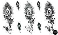 Флэш-тату временные татуировки-наклейки T079