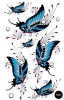Флэш-тату временные татуировки-наклейки T091