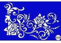 Stencil For Henna S09