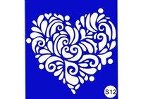 Stencil For Henna S12