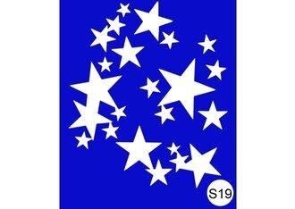 Трафарет для хны S19