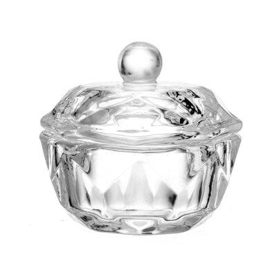 Прозрачный стаканчик с крышкой