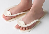 Slippers for a pedicure disposable