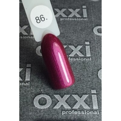 OXXI Гель лак №086